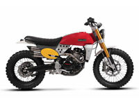 Fantic CABALLERO 500 Scrambler or Flat Tracker Avail April Pre order now