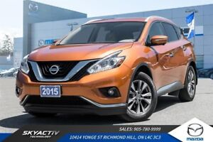 2015 Nissan Murano SL LEATHER*NAVIGATION*HEATED SEATS