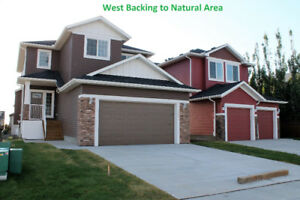 Alberta WORK North, LIVE South Tandem Garage, W/O, Pond $399,900