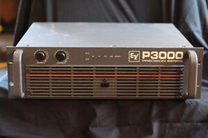 ampli de sonorisation E.V  P3000 precision series