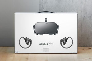 NEW! Oculus Rift with 2 Touch Controllers and 2 Sensors Bundle