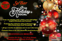 SoBar Holiday Social All Ages event for cis/trans men to meet