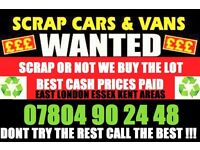 ☎️CASH TODAY CAR VAN WE PAY MORE BUY YOUR SELL MY SCRAP B