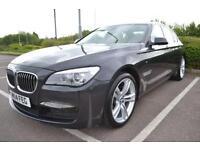 2014 14 BMW 7 SERIES 3.0 730D M SPORT 4D AUTO 255 BHP DIESEL