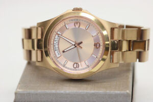 Marc Jacobs Baby Dave Rose Gold Watch MBM3232 (#16862)