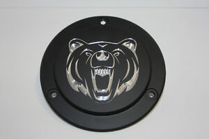"Harley Davidson Custom Derby Cover - ""Grizzly"""