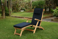 Brand new Teak lounge chair