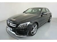2014 Mercedes-Benz C-CLASS 2.1 C220 BLUETEC AMG LINE 4d AUTO-2 OWNER CAR-30 ROAD