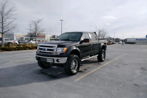 2013 lifted ford f150 XLT