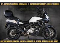 2013 13 SUZUKI V-STROM 650CC 0% DEPOSIT FINANCE AVAILABLE