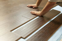 Available to lay laminate flooring!