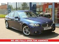 2015 65 BMW 5 SERIES 2.0 520D M SPORT 4D 188 BHP DIESEL