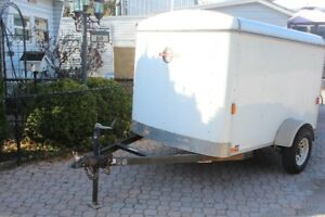 Price Reduced  2011 5x8 enclosed trailer