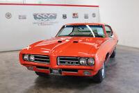 Miniature 3 Voiture Américaine de collection Pontiac GTO 1969