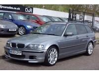 2003 53 BMW 3 SERIES 3.0 330D SPORT TOURING 5D AUTO 202 BHP DIESEL