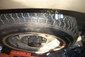 Fixing your punctured tire