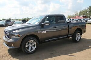 2016 RAM SPORT 1500 QUAD CAB WE HAVE 100'S ARRIVING !! 16R16093