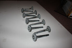 Nylon rollers, full set of 10, excellent condition.