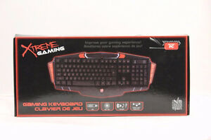 Xtreme Gaming Wired PC Gaming Keyboard - Black (New)