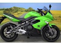 Kawasaki EX650 2010**ABS, WAVY DISCS, OXFORD HEATED GRIPS, TANK PAD**