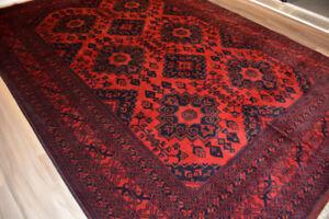 7X10 Beautiful Afghan Khal Mohammadi Rug, Soft and well-made Rug