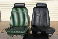 '68-72 Chevelle Bucket Seats with new headrests