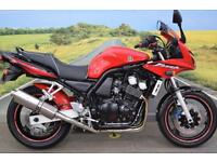 Yamaha FZ6 **Tank Pad, Beowulf Exhaust, Adjustable Levers**