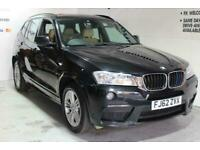 2012 BMW X3 2.0 20d BluePerformance M Sport Auto xDrive 5dr SUV Diesel Automatic