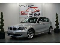 2007 57 BMW 1 SERIES 2.0 118D SE 5D 141 BHP DIESEL IN SILVER