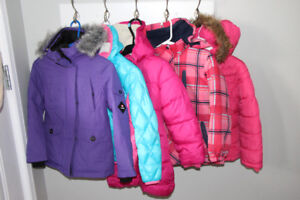 Girls coats - size 6/7 various prices listed