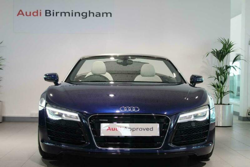 Audi R8 2014 Spyder 4 2 FSI V8 Quattro 2dr S Tronic Convertible | in  Shirley, West Midlands | Gumtree