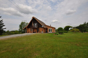 LOG HOME AND 120 ACRES OF FARMLAND FOR SALE