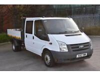 2.4 T350 RWD 4D 115 BHP DOUBLE CAB TWIN WHEEL COMBI TIPPER VAN 2012