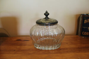 Antique Glass Presentation Jar - Windsor, Ontario London Ontario image 2