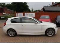2009 09 BMW 1 SERIES 2.0 118I M SPORT 3D 141 BHP