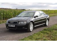 Audi A8 3.0 TDI Quatrro SatNav TV Full leather Xenons massage option Long MOT 2 owners only VGC