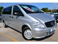 2012 Mercedes benz Vito VITO 113 CDI TRAVELINER Extra Long 8 Seat Mini Bus 5 ...
