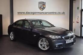 2013 63 BMW 5 SERIES 3.0 530D M SPORT 4DR AUTO 255 BHP DIESEL