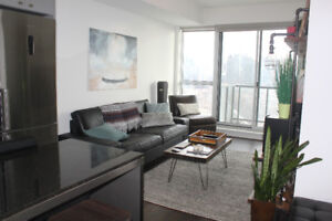 downtown liberty village 2 yr new condo private sale