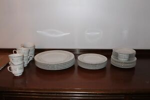 Dinner plates and cups