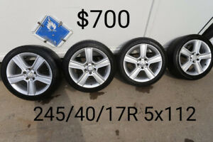 Tires & Mags 245/40/17R
