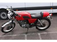 HONDA GB 250 MC10, RED, COOL IMPORT MOTORCYCLE FROM JAPAN, OLD SCHOOL LOOKS