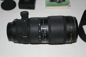 SIGMA 70-200MM F2.8II  AND REBEL T2I EOS 550D