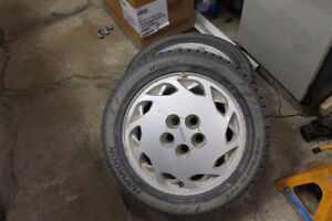 225/50r16 hankook winter tires on Toyota rims