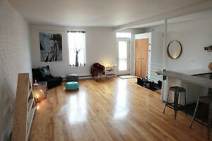 Sublet our large 700 sq. Plateau LOFT APRL 24 -May 15th