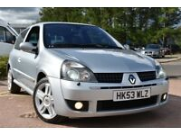 Renault Clio RENAULTSPORT 172 16V (silver) 2003