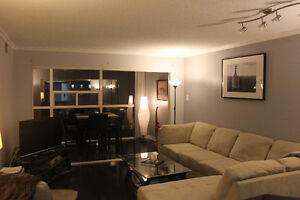 Large, beautiful 1+1 condo w/parking available Jan 01 2017