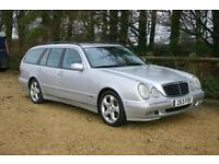 AUTOMATIC ESTATE Mercedes-Benz E 320 Avantgarde with SERVICE HISTORY and NEW MOT