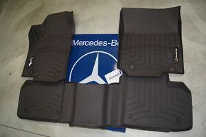 Mercedes 2012 - 2015 ML350 winter mats + winter trunk liner