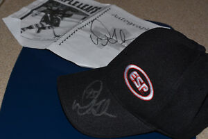 Baseball Cap Signed by Doug Gilmour London Ontario image 2